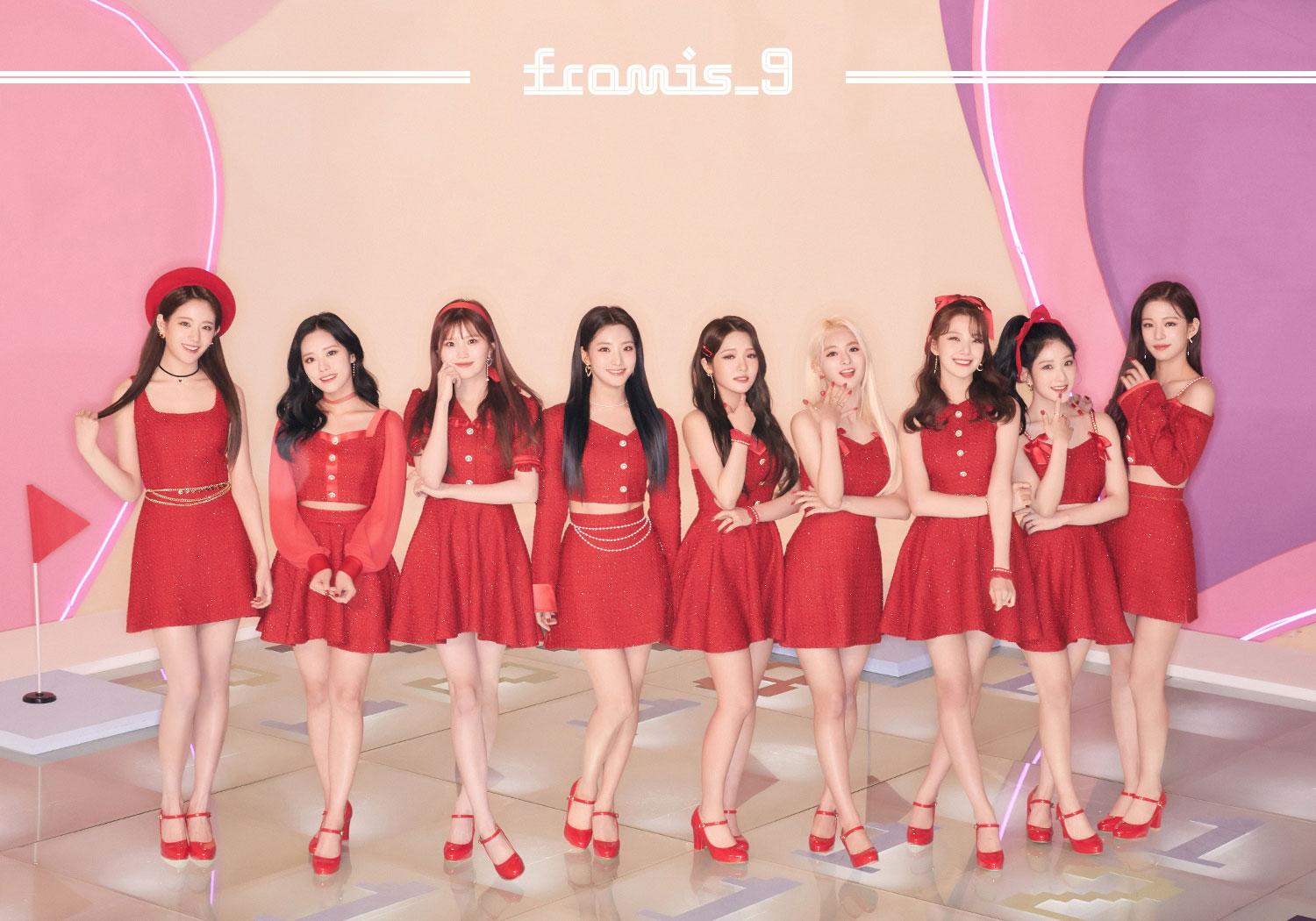 """fromis_9 to release their Japanese pre-debut single """"Love Bomb"""" on 13th Mar - Music - OneHallyu"""